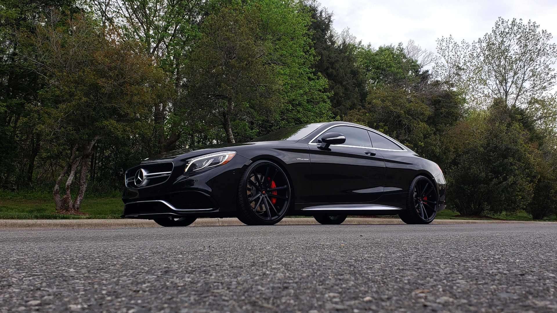 Used 2015 Mercedes-Benz S-CLASS S 63 AMG 4MATIC / DRVR ASST / NIGHT VIEW ASST PLUS / MAGIC SKY for sale Sold at Formula Imports in Charlotte NC 28227 2