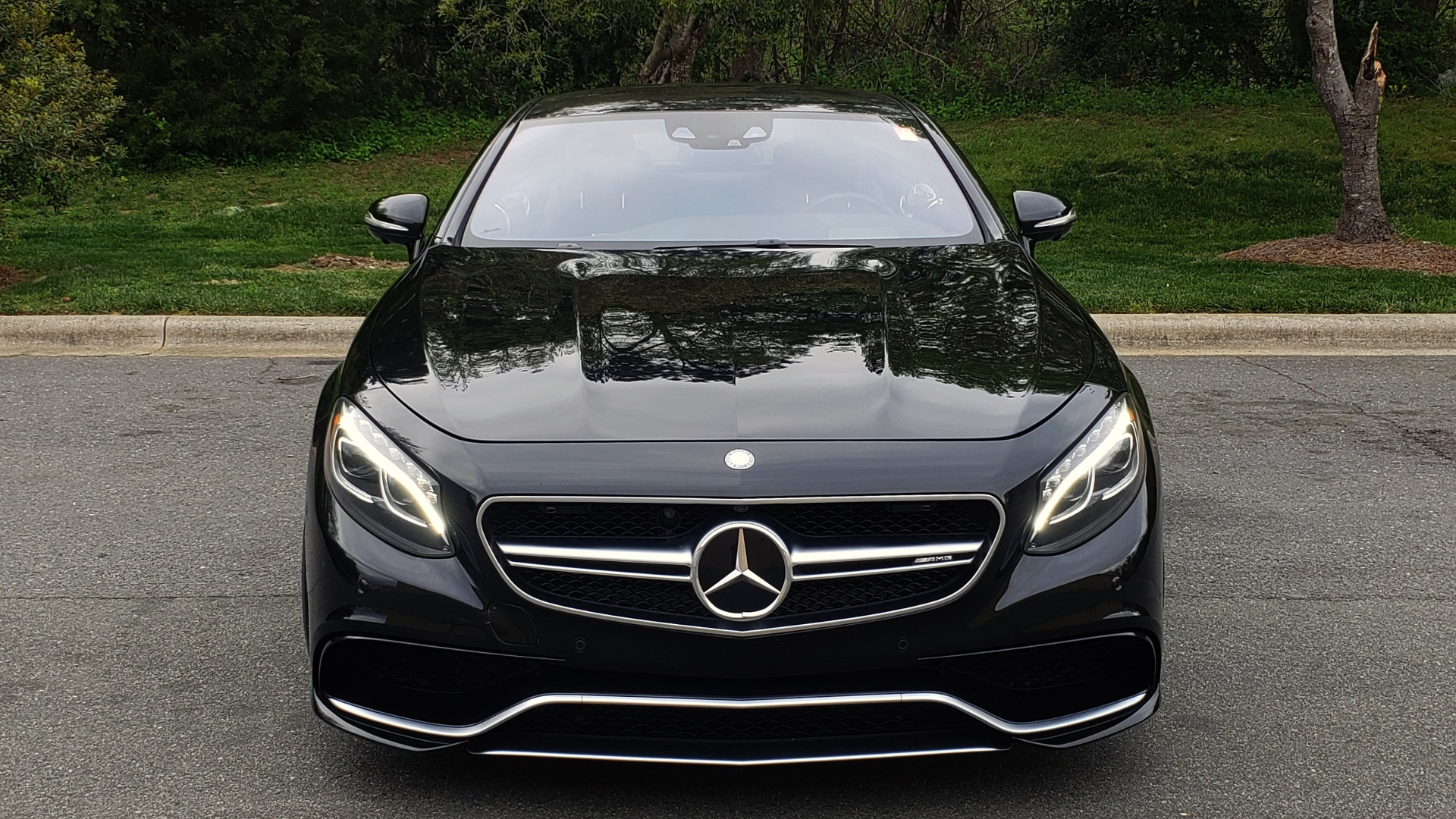 Used 2015 Mercedes-Benz S-CLASS S 63 AMG 4MATIC / DRVR ASST / NIGHT VIEW ASST PLUS / MAGIC SKY for sale Sold at Formula Imports in Charlotte NC 28227 29