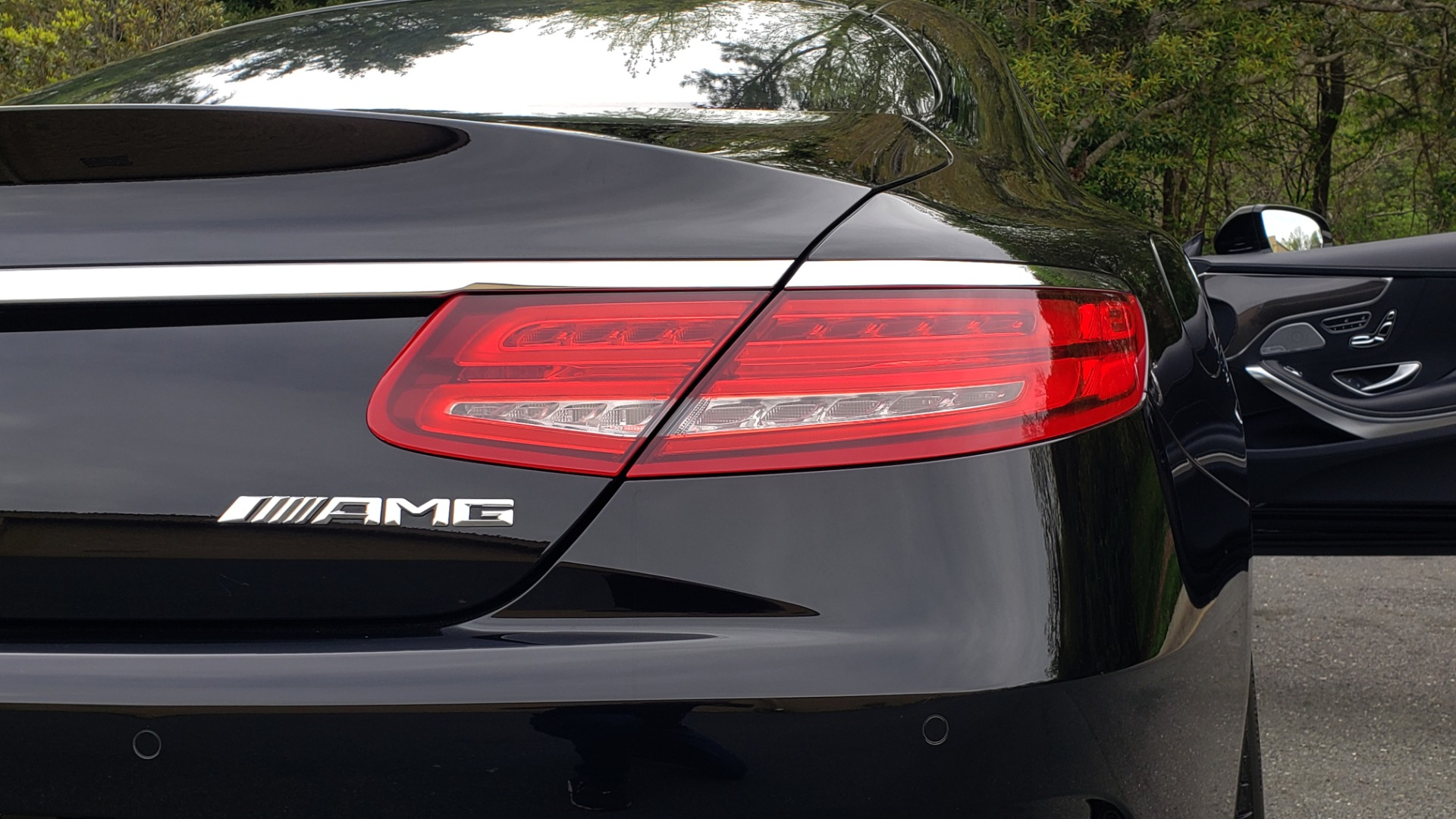 Used 2015 Mercedes-Benz S-CLASS S 63 AMG 4MATIC / DRVR ASST / NIGHT VIEW ASST PLUS / MAGIC SKY for sale Sold at Formula Imports in Charlotte NC 28227 40