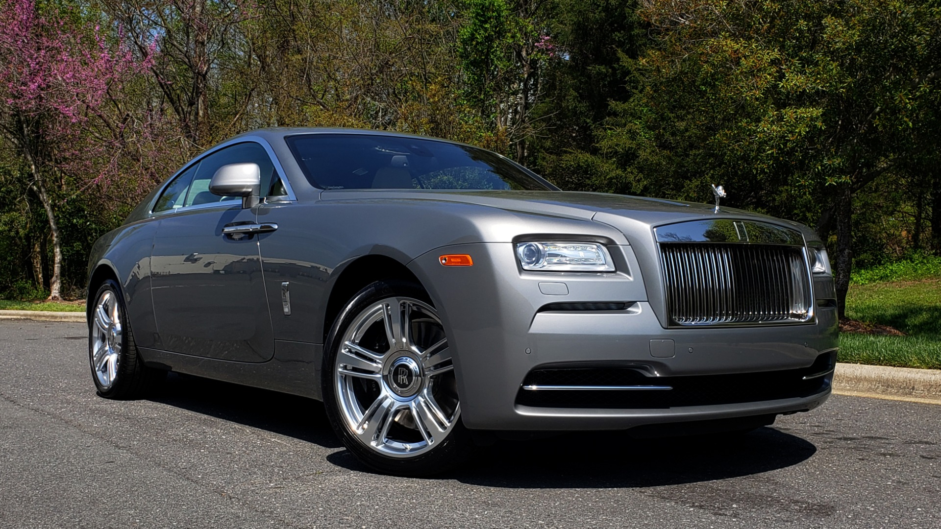 Used 2015 Rolls-Royce WRAITH 2DR COUPE / DRVR ASST / LANE DEPART / HEADS-UP / CAMERA for sale $159,995 at Formula Imports in Charlotte NC 28227 18