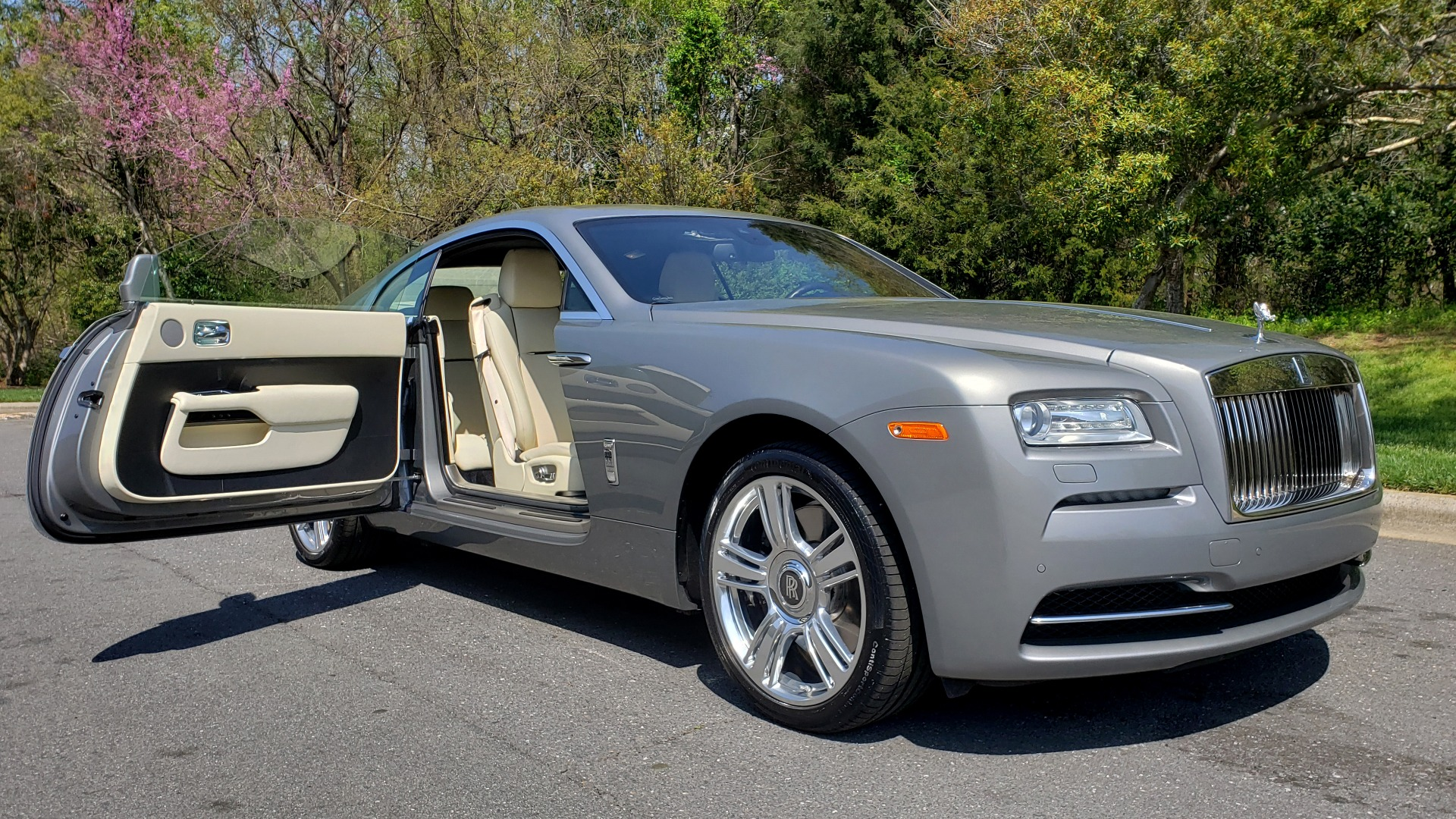 Used 2015 Rolls-Royce WRAITH 2DR COUPE / DRVR ASST / LANE DEPART / HEADS-UP / CAMERA for sale $159,995 at Formula Imports in Charlotte NC 28227 19