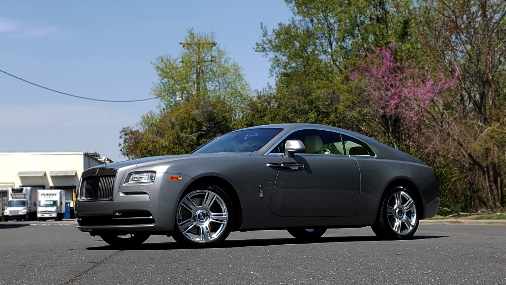 Used 2015 Rolls-Royce WRAITH 2DR COUPE / DRVR ASST / LANE DEPART / HEADS-UP / CAMERA for sale $159,995 at Formula Imports in Charlotte NC 28227 4