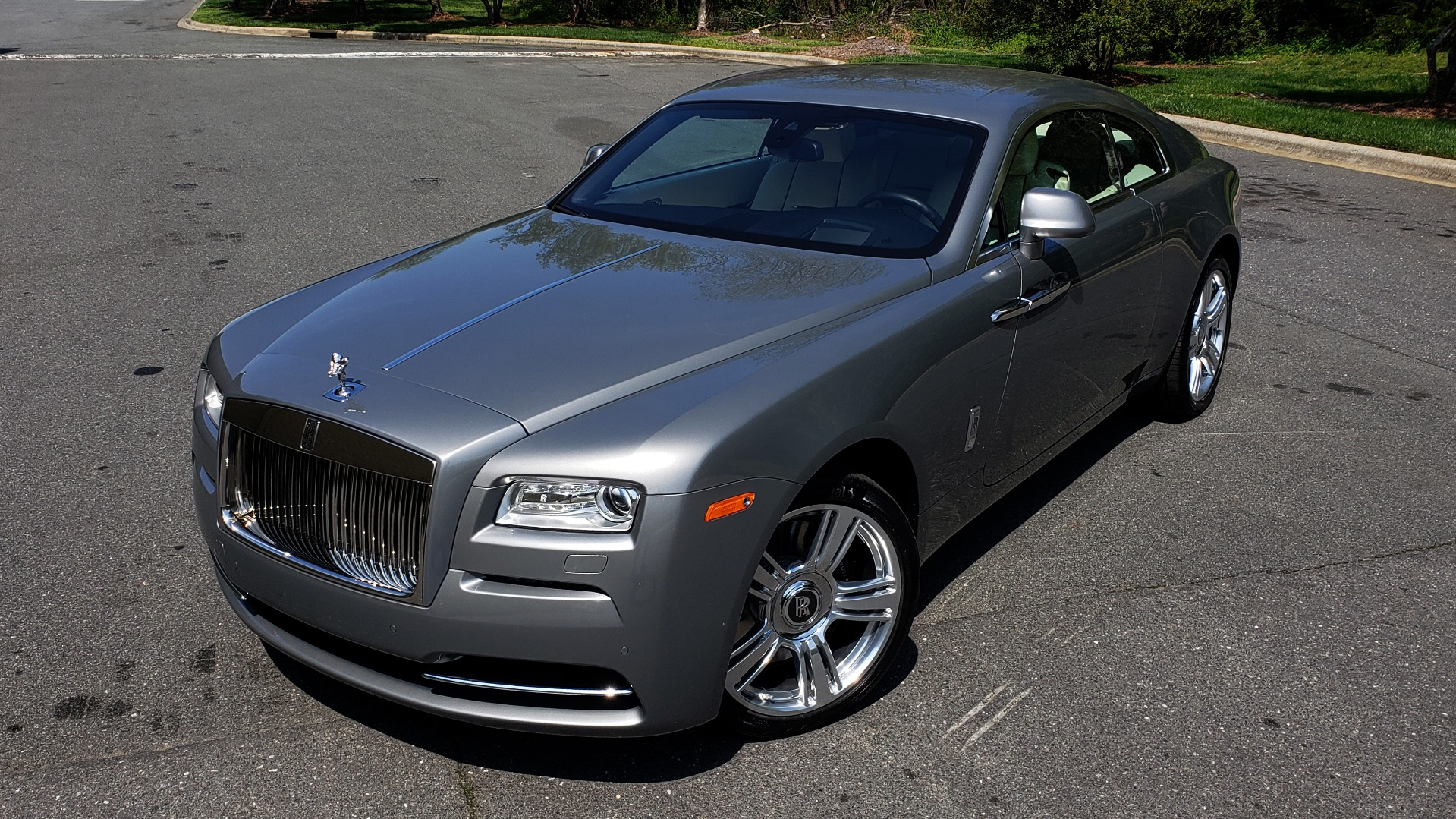 Used 2015 Rolls-Royce WRAITH 2DR COUPE / DRVR ASST / LANE DEPART / HEADS-UP / CAMERA for sale $159,995 at Formula Imports in Charlotte NC 28227 5