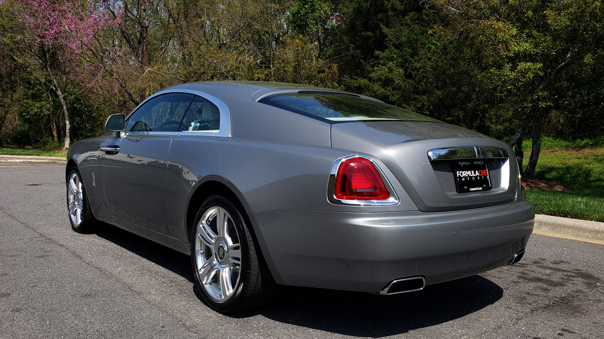 Used 2015 Rolls-Royce WRAITH 2DR COUPE / DRVR ASST / LANE DEPART / HEADS-UP / CAMERA for sale $159,995 at Formula Imports in Charlotte NC 28227 9