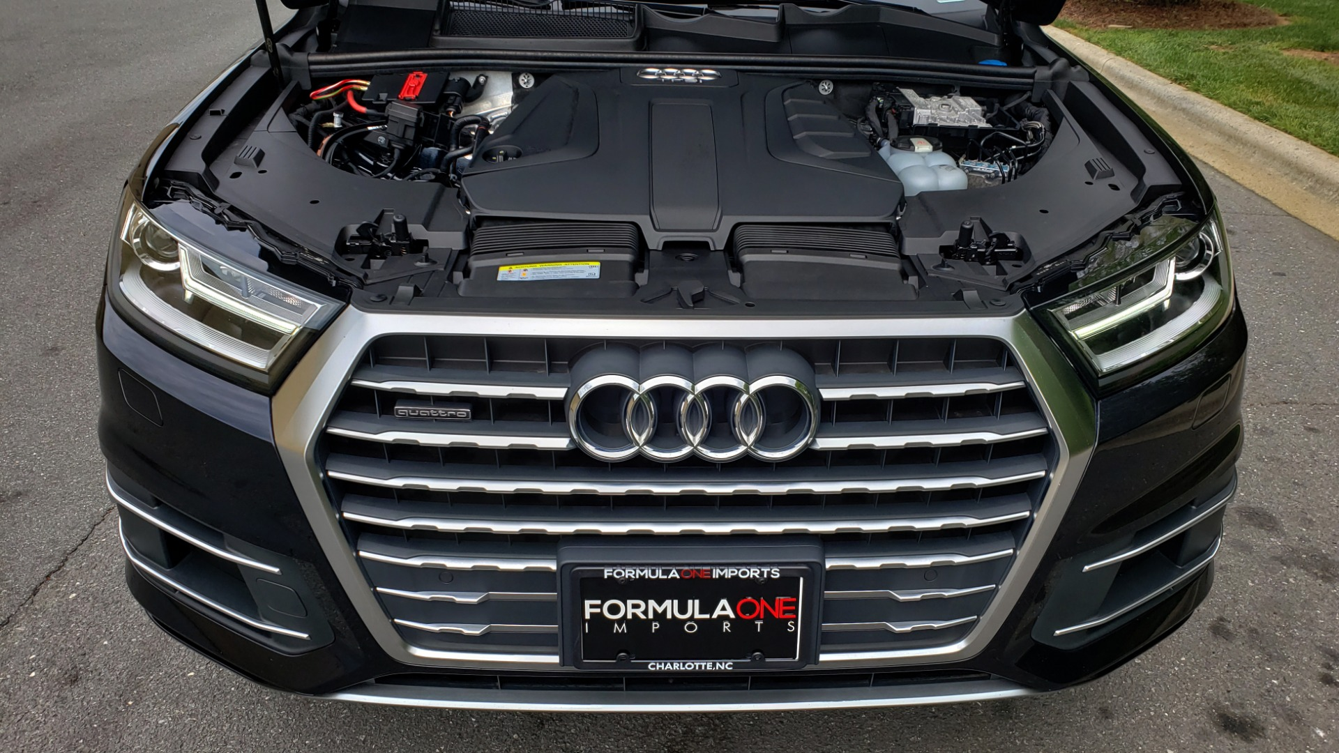 Used 2017 Audi Q7 2.0T PREMIUM TIPTRONIC / CLD WTHR / SUNROOF / REARVIEW for sale Sold at Formula Imports in Charlotte NC 28227 11