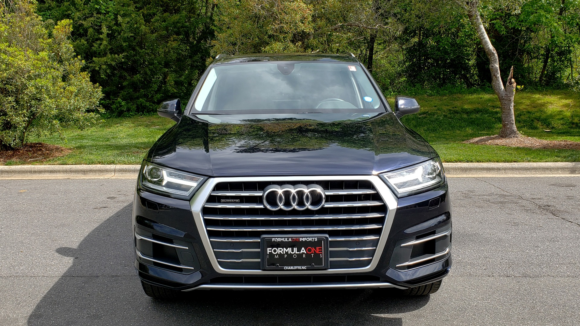 Used 2017 Audi Q7 2.0T PREMIUM TIPTRONIC / CLD WTHR / SUNROOF / REARVIEW for sale Sold at Formula Imports in Charlotte NC 28227 26