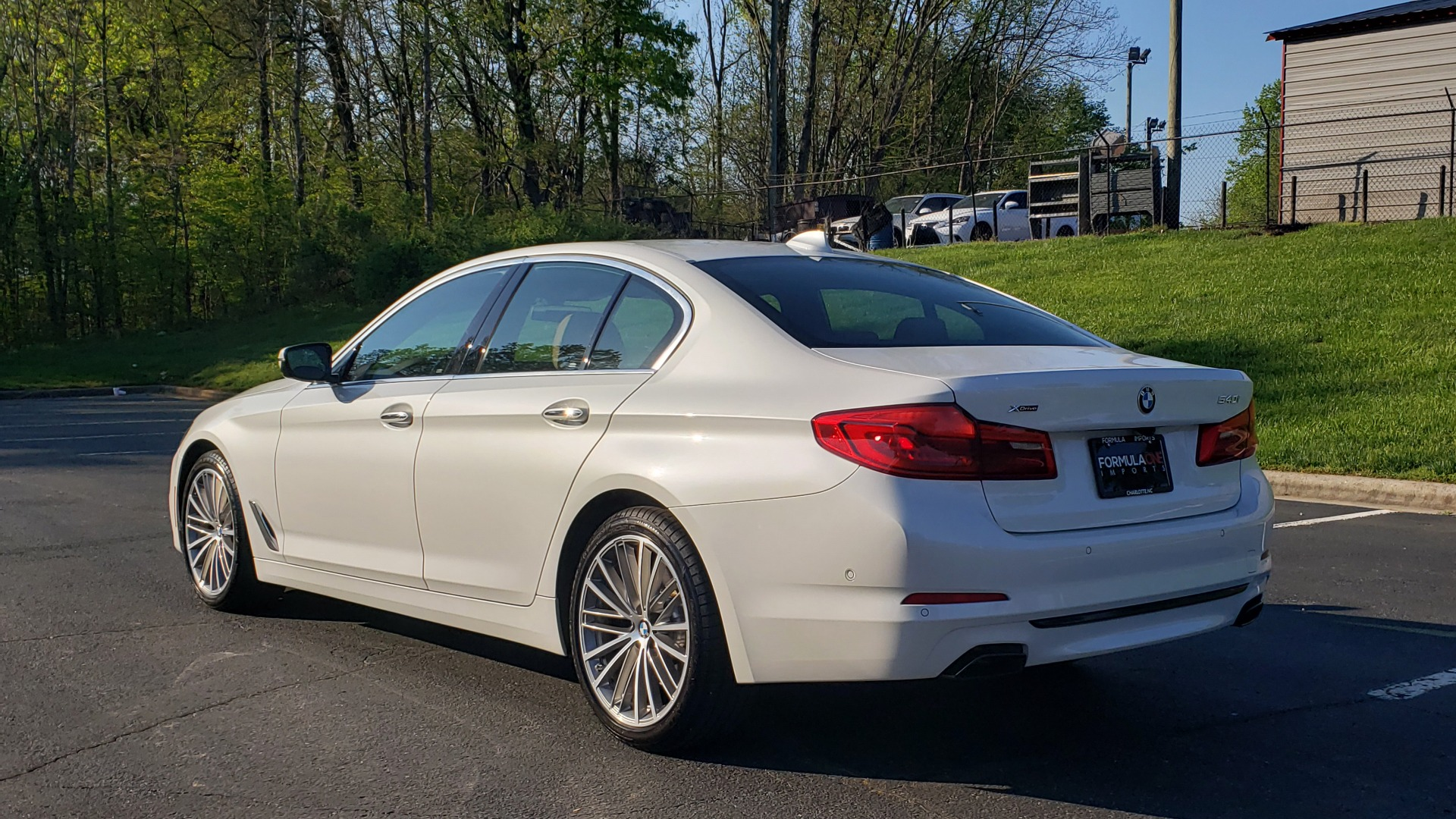 Used 2017 BMW 5 SERIES 540I XDRIVE PREMIUM / DRVR ASST PLUS / CLD WTHR / APPLE CAR PLAY for sale Sold at Formula Imports in Charlotte NC 28227 3