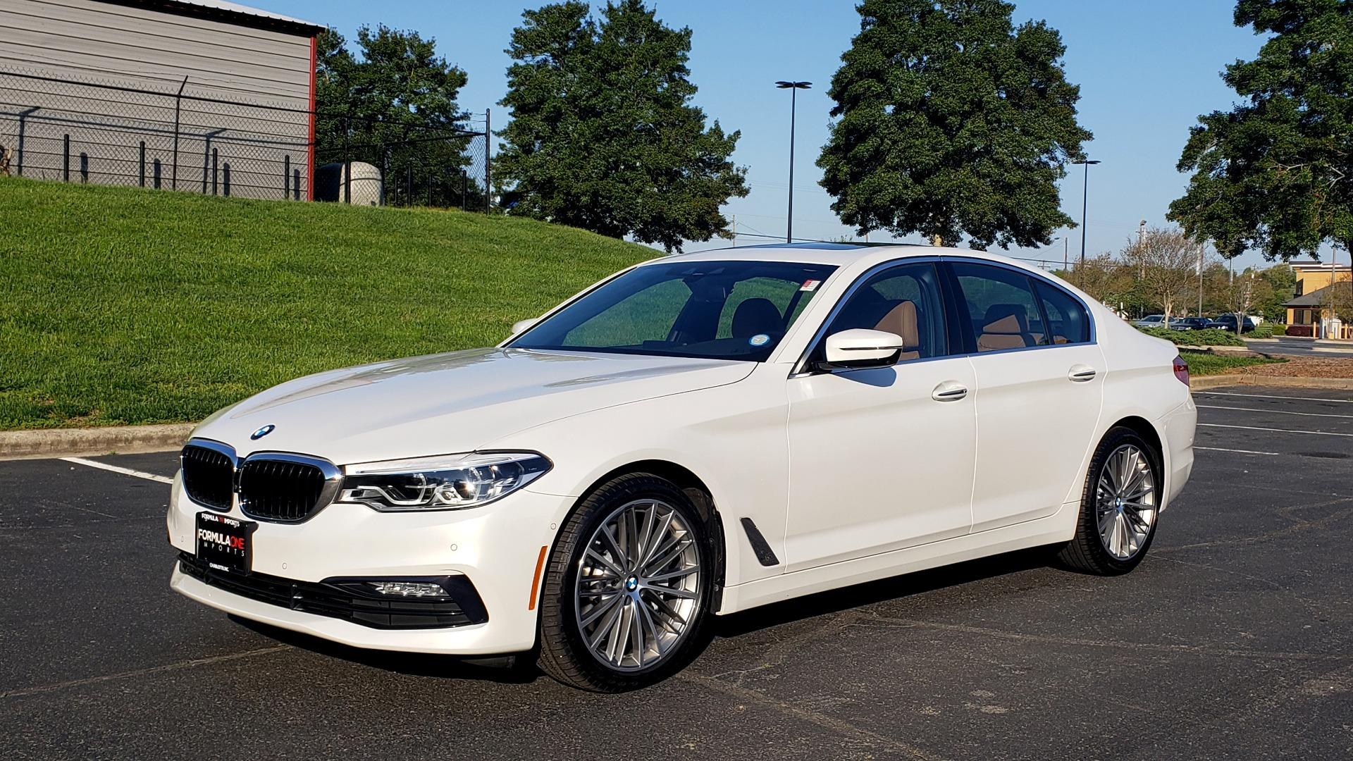 Used 2017 BMW 5 SERIES 540I XDRIVE PREMIUM / DRVR ASST PLUS / CLD WTHR / APPLE CAR PLAY for sale Sold at Formula Imports in Charlotte NC 28227 1
