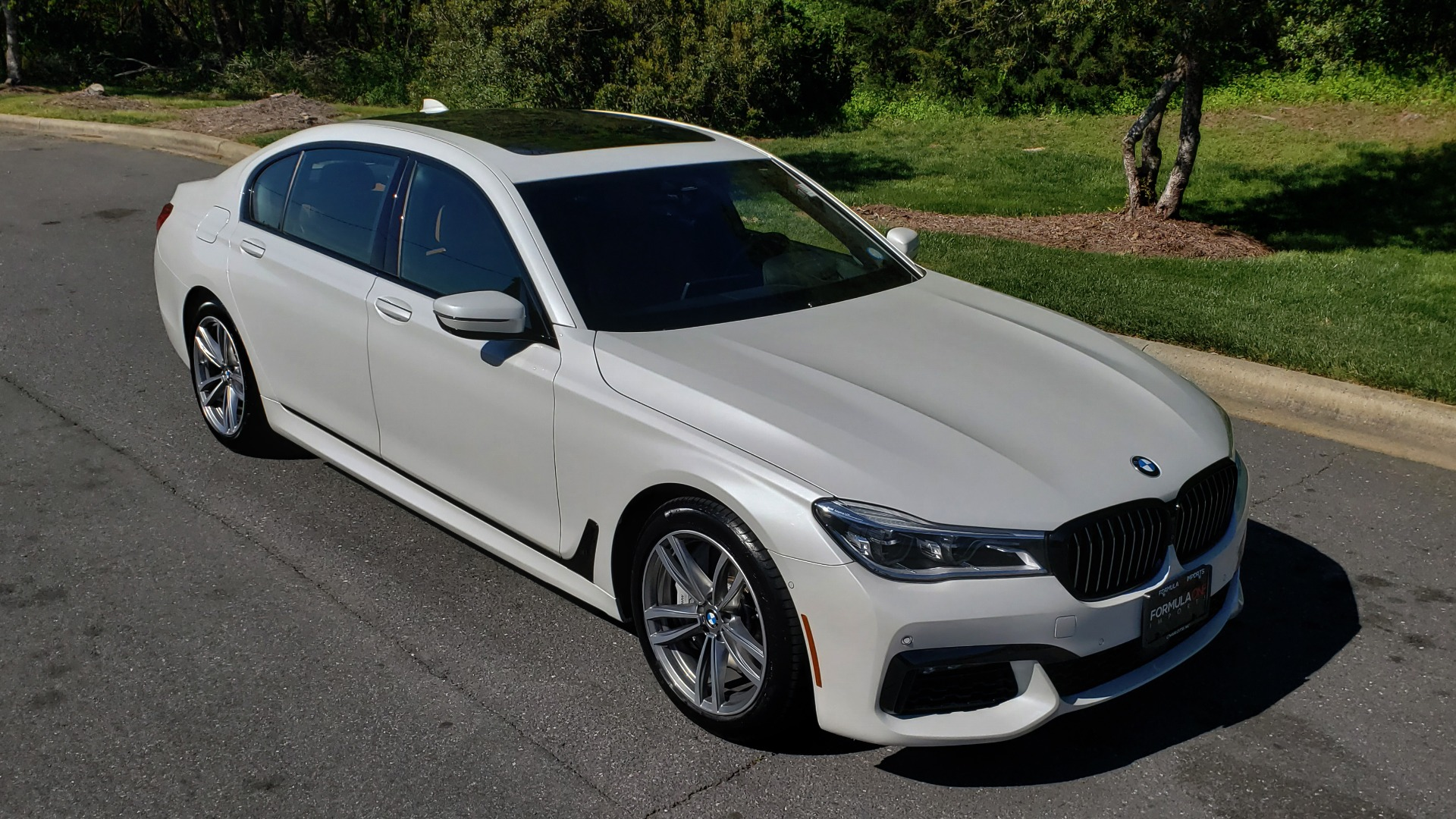 Used 2017 BMW 7 SERIES 750I XDRIVE / M-SPORT / EXEC PKG / DRVR ASST PLUS II / CLD WTHR for sale $48,495 at Formula Imports in Charlotte NC 28227 4