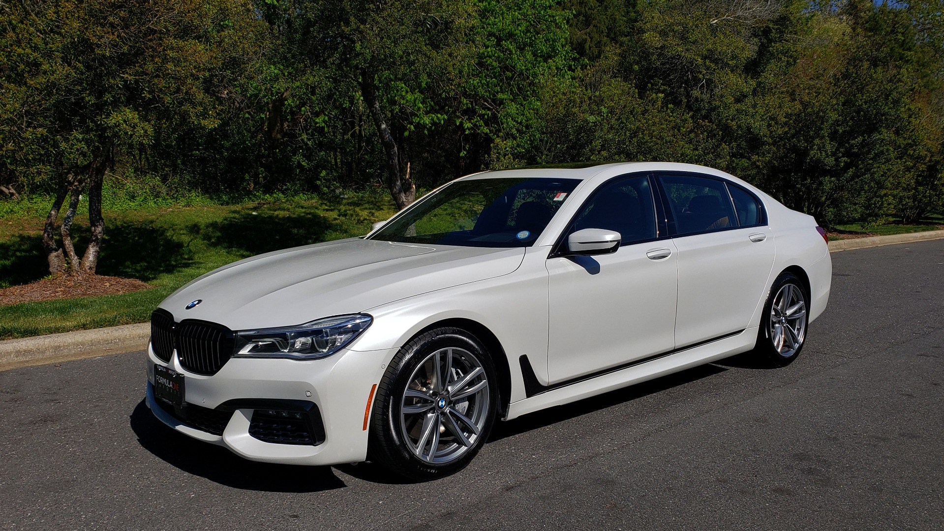 Used 2017 BMW 7 SERIES 750I XDRIVE / M-SPORT / EXEC PKG / DRVR ASST PLUS II / CLD WTHR for sale $48,495 at Formula Imports in Charlotte NC 28227 1