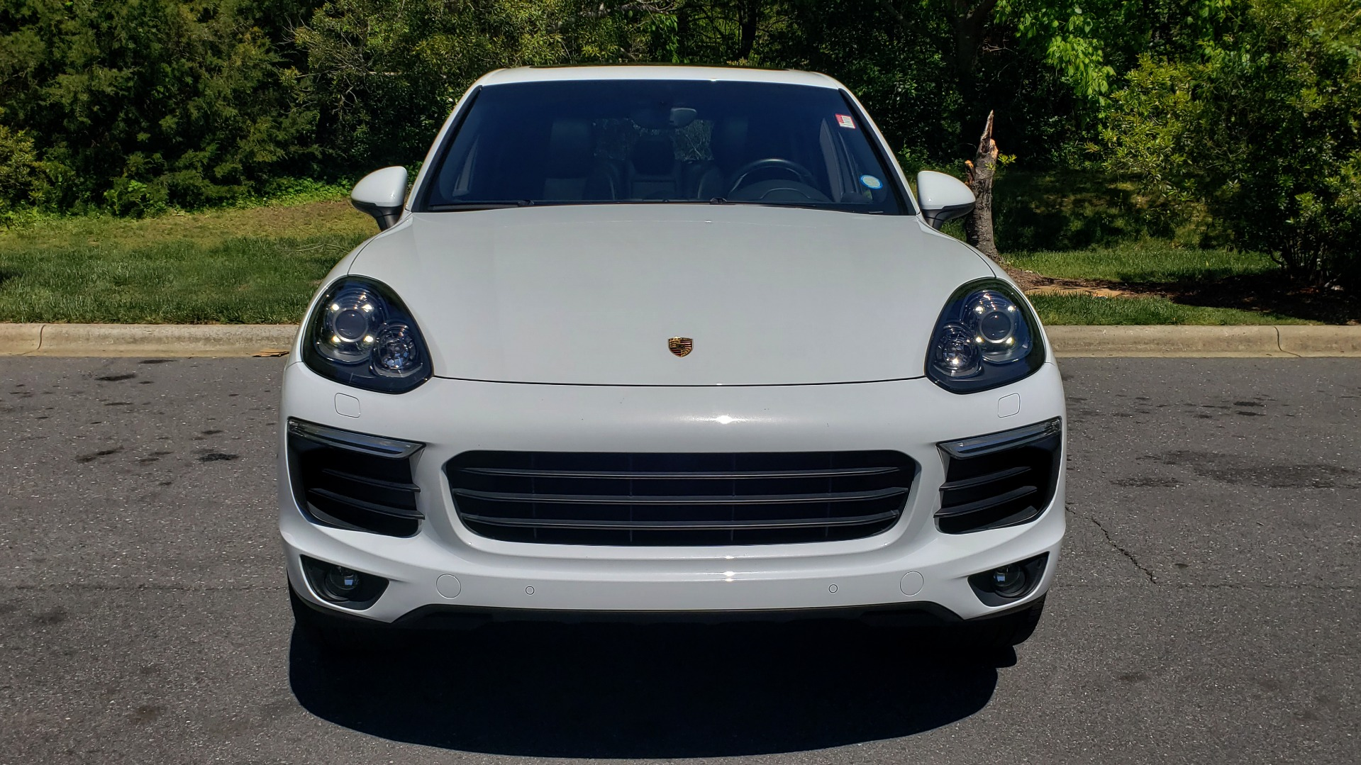 Used 2017 Porsche Cayenne Platinum Edition for sale Sold at Formula Imports in Charlotte NC 28227 22