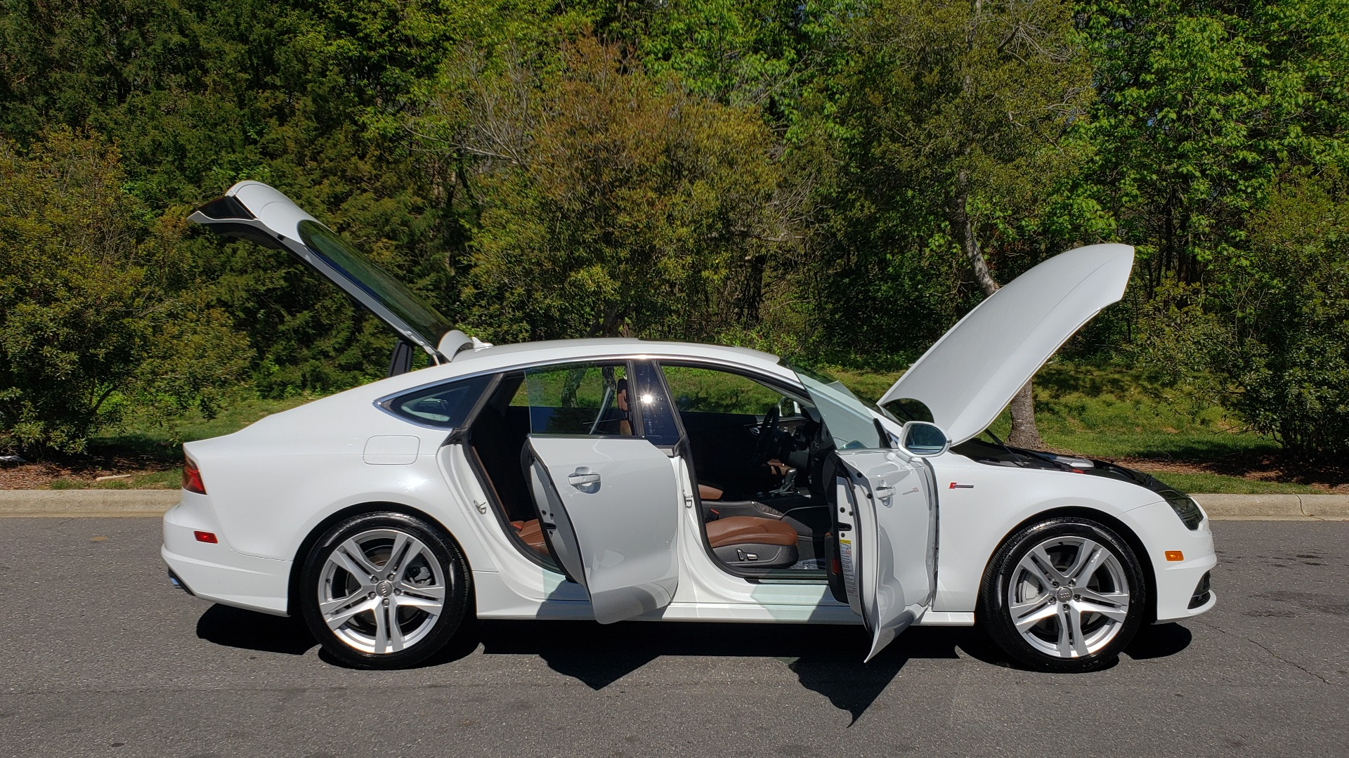 Used 2018 Audi A7 PREMIUM PLUS / DRVR ASST / COLD WTHR / HTD STS for sale Sold at Formula Imports in Charlotte NC 28227 10