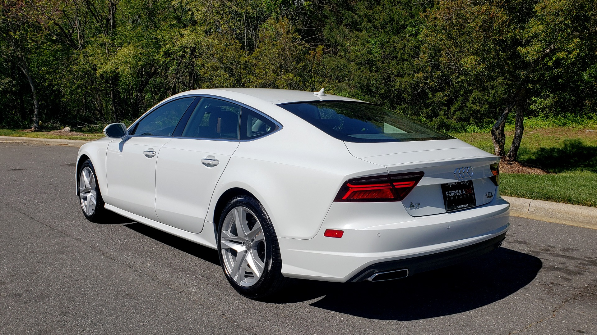 Used 2018 Audi A7 PREMIUM PLUS / DRVR ASST / COLD WTHR / HTD STS for sale Sold at Formula Imports in Charlotte NC 28227 3
