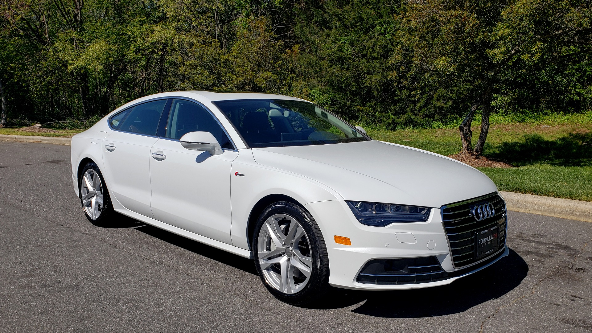 Used 2018 Audi A7 PREMIUM PLUS / DRVR ASST / COLD WTHR / HTD STS for sale Sold at Formula Imports in Charlotte NC 28227 4