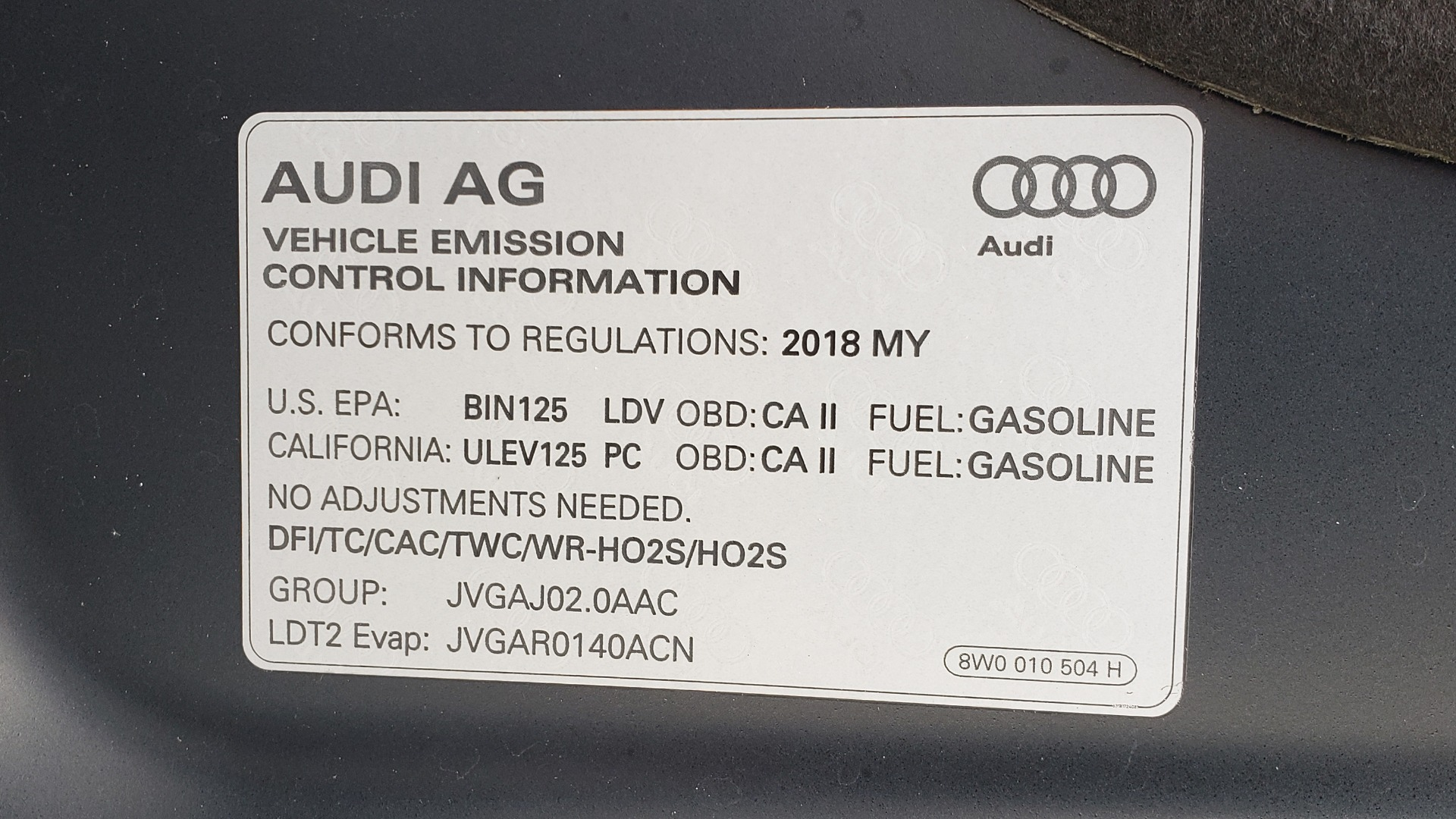 Used 2018 Audi Q5 PREMIUM PLUS / S-TRONIC / NAV / PANO-ROOF / PARK SYS PLUS for sale Sold at Formula Imports in Charlotte NC 28227 12