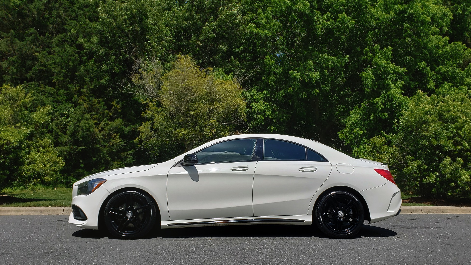 Used 2017 Mercedes-Benz CLA 250 4MATIC / SPORT / PREMIUM / MULTI MEDIA / NIGHT PKG / PANO-ROOF for sale Sold at Formula Imports in Charlotte NC 28227 2