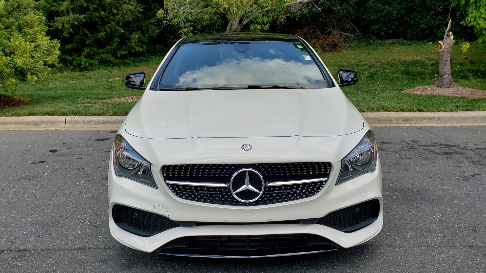 Used 2017 Mercedes-Benz CLA 250 4MATIC / SPORT / PREMIUM / MULTI MEDIA / NIGHT PKG / PANO-ROOF for sale Sold at Formula Imports in Charlotte NC 28227 21
