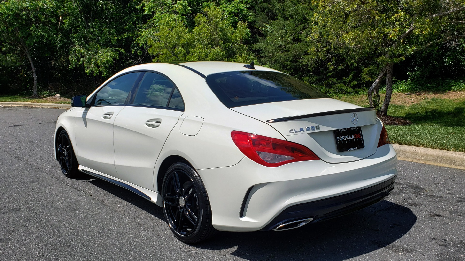 Used 2017 Mercedes-Benz CLA 250 4MATIC / SPORT / PREMIUM / MULTI MEDIA / NIGHT PKG / PANO-ROOF for sale Sold at Formula Imports in Charlotte NC 28227 3