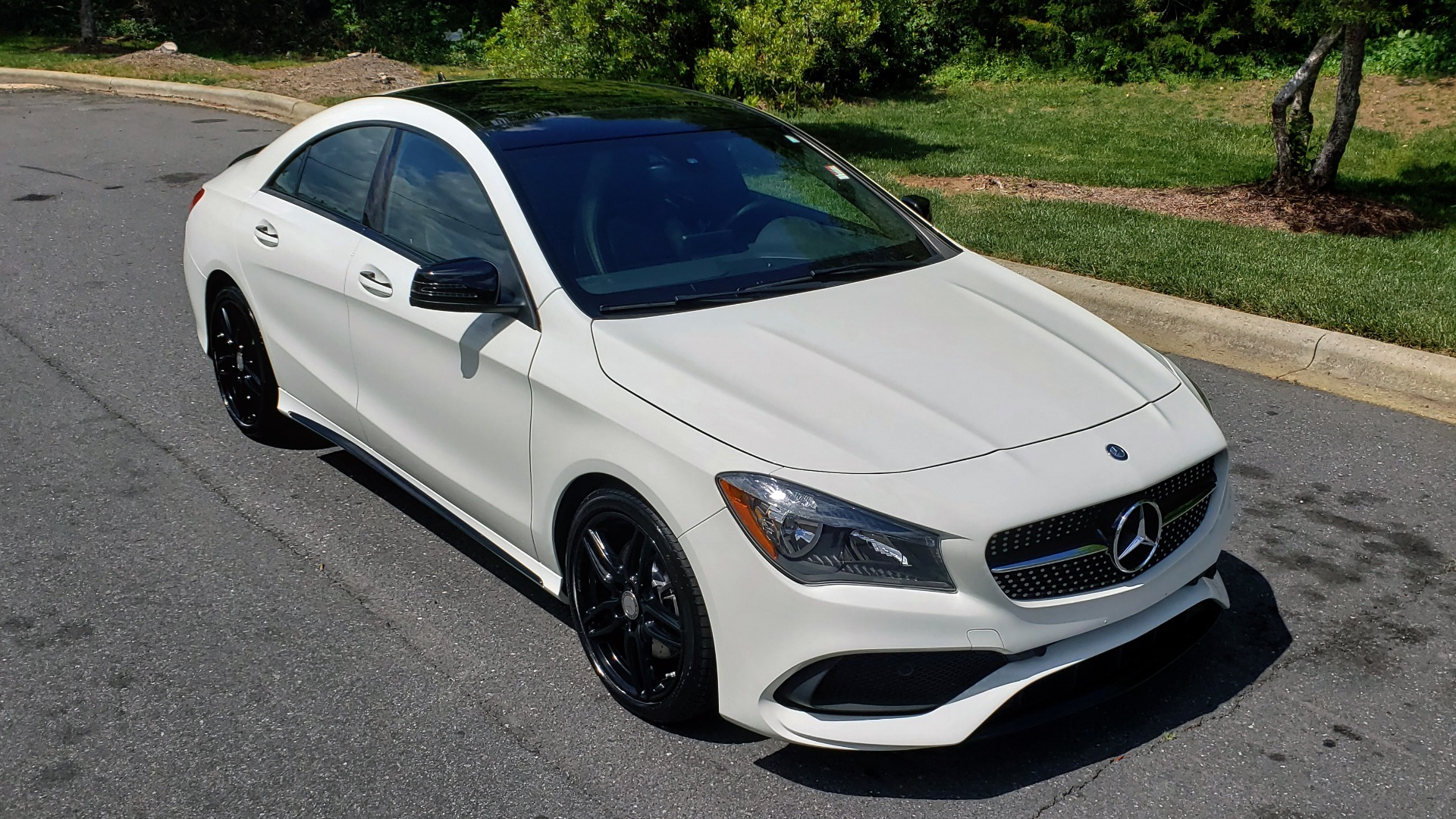 Used 2017 Mercedes-Benz CLA 250 4MATIC / SPORT / PREMIUM / MULTI MEDIA / NIGHT PKG / PANO-ROOF for sale Sold at Formula Imports in Charlotte NC 28227 4