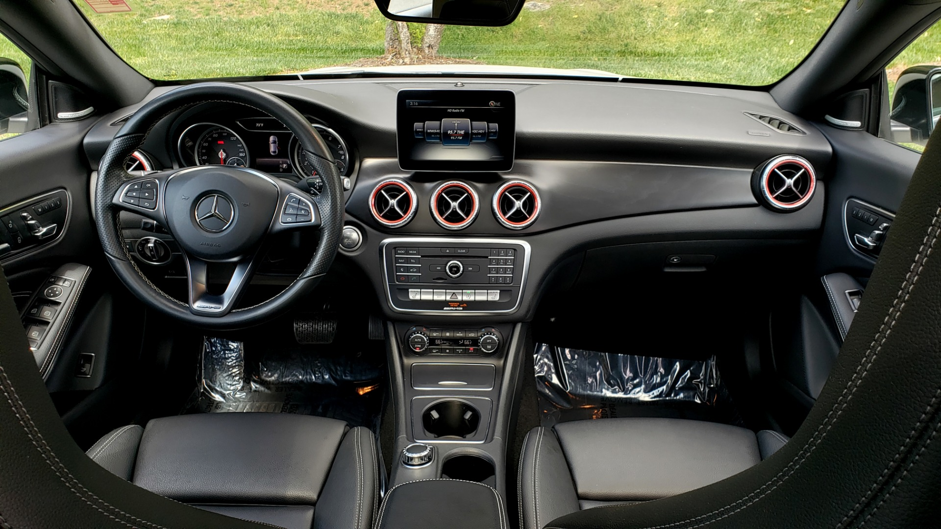 Used 2017 Mercedes-Benz CLA 250 4MATIC / SPORT / PREMIUM / MULTI MEDIA / NIGHT PKG / PANO-ROOF for sale Sold at Formula Imports in Charlotte NC 28227 79