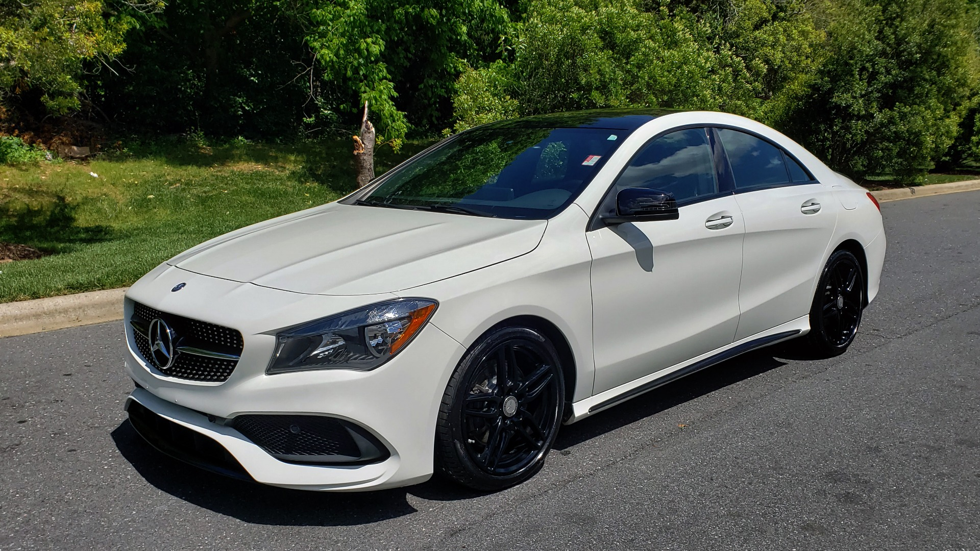 Used 2017 Mercedes-Benz CLA 250 4MATIC / SPORT / PREMIUM / MULTI MEDIA / NIGHT PKG / PANO-ROOF for sale Sold at Formula Imports in Charlotte NC 28227 1