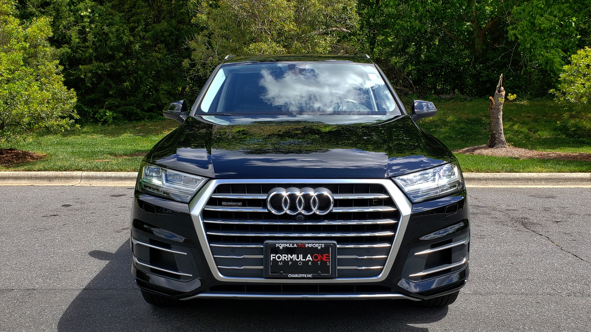 Used 2017 Audi Q7 PREMIUM PLUS / VISION PKG / NAV / PANO-ROOF / 3-ROW / REARVIEW for sale Sold at Formula Imports in Charlotte NC 28227 20