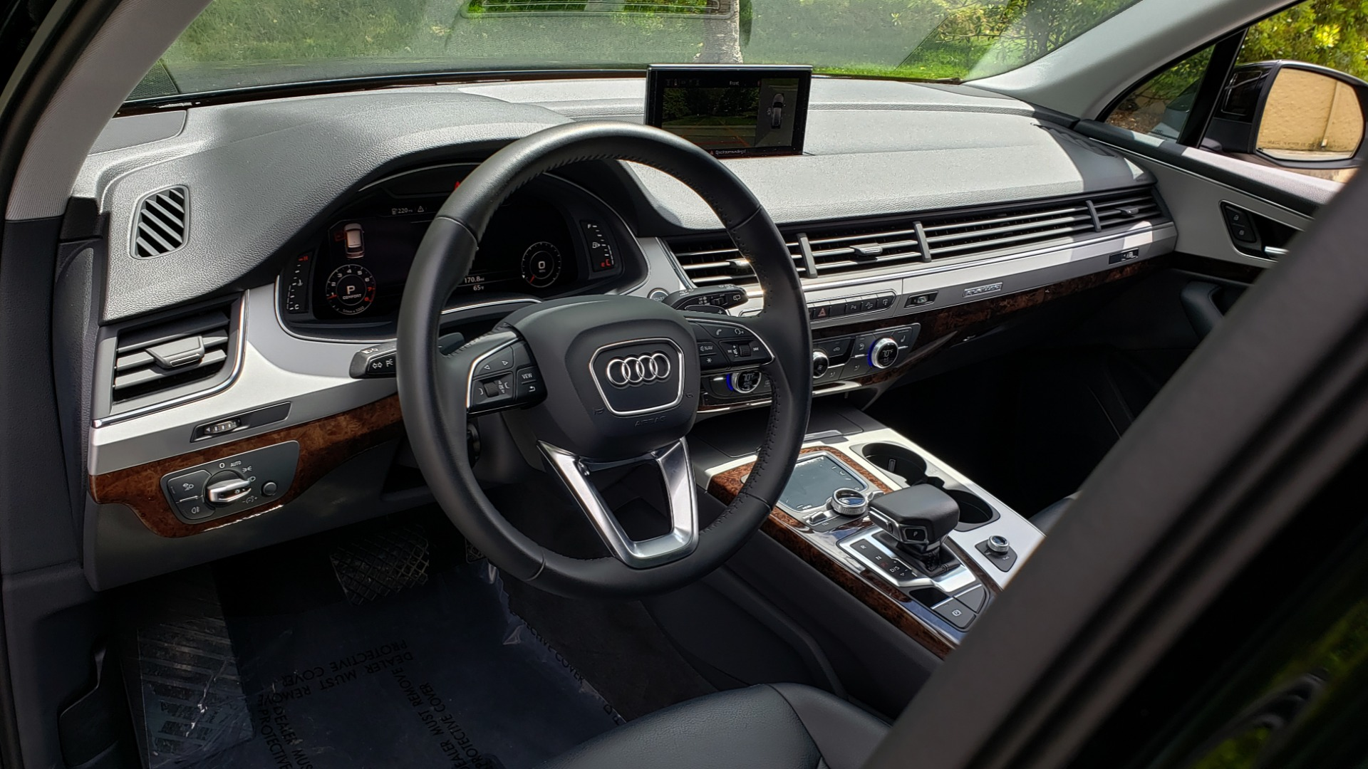 Used 2017 Audi Q7 PREMIUM PLUS / VISION PKG / NAV / PANO-ROOF / 3-ROW / REARVIEW for sale Sold at Formula Imports in Charlotte NC 28227 36