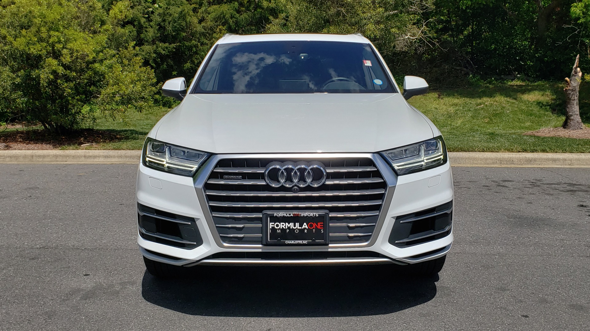 Used 2017 Audi Q7 PREMIUM PLUS / VISION PKG / NAV / PANO-ROOF / 3-ROW / REARVIEW for sale Sold at Formula Imports in Charlotte NC 28227 23
