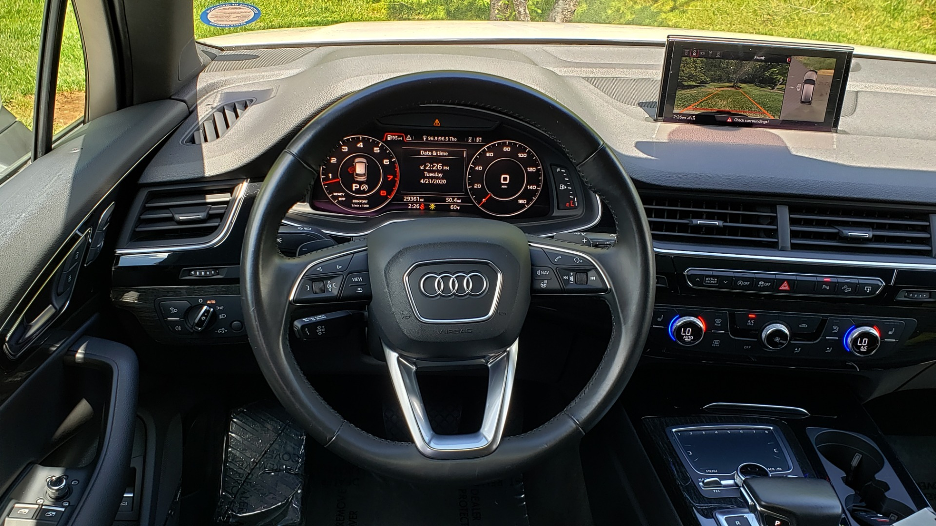 Used 2017 Audi Q7 PREMIUM PLUS / VISION PKG / NAV / PANO-ROOF / 3-ROW / REARVIEW for sale Sold at Formula Imports in Charlotte NC 28227 38