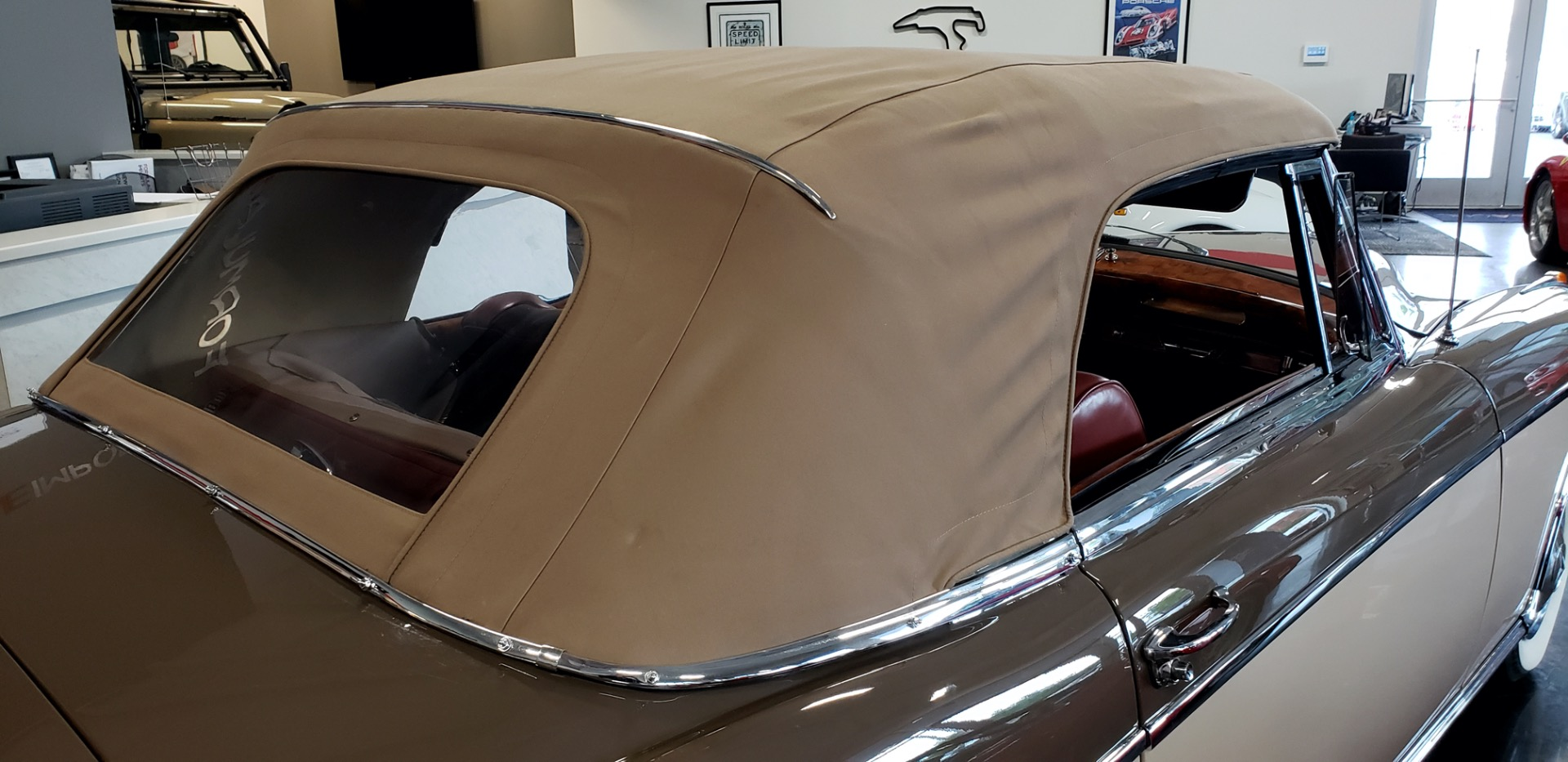 Used 1957 Mercedes-Benz 220 S Cabriolet - Full Restoration for sale Sold at Formula Imports in Charlotte NC 28227 14