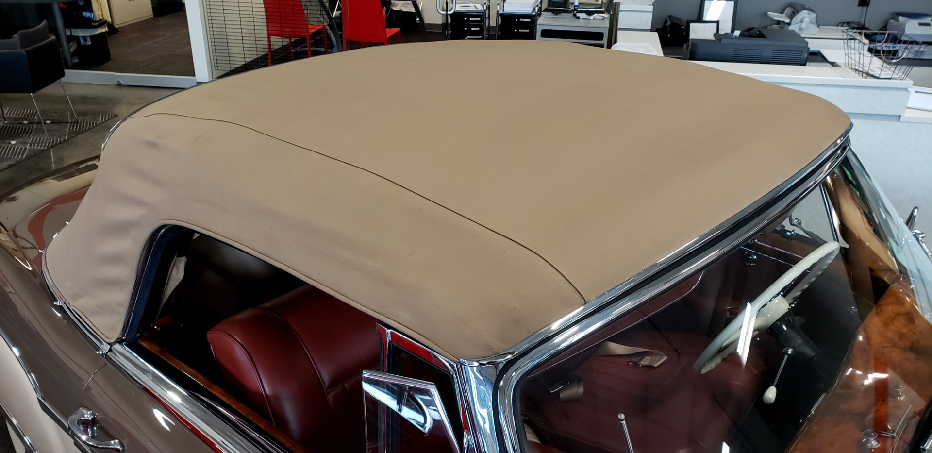 Used 1957 Mercedes-Benz 220 S Cabriolet - Full Restoration for sale Sold at Formula Imports in Charlotte NC 28227 15
