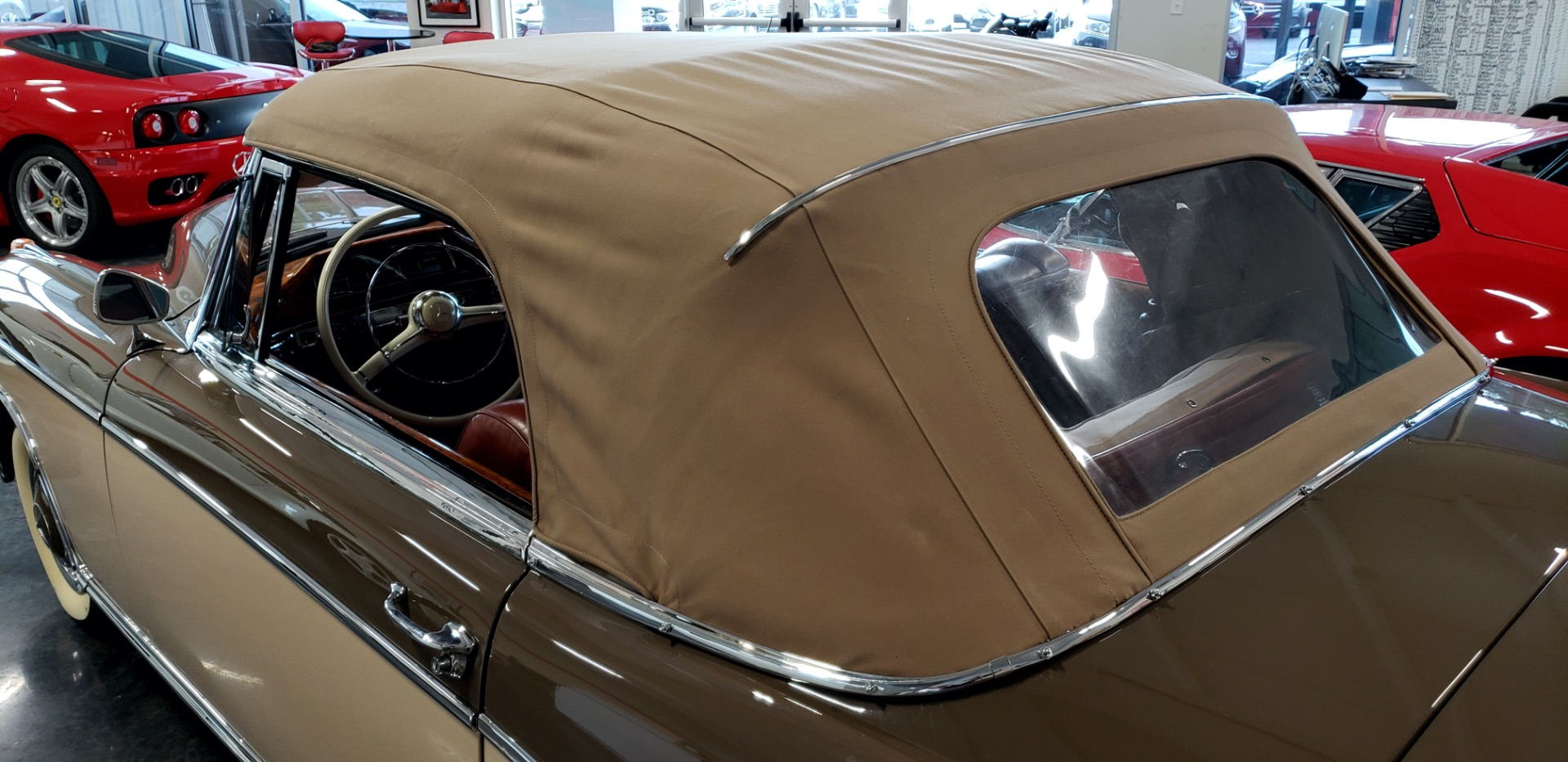 Used 1957 Mercedes-Benz 220 S Cabriolet - Full Restoration for sale Sold at Formula Imports in Charlotte NC 28227 17