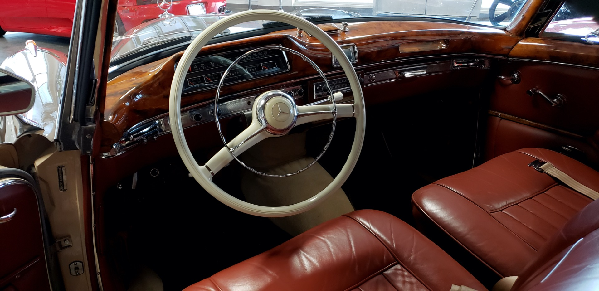 Used 1957 Mercedes-Benz 220 S Cabriolet - Full Restoration for sale Sold at Formula Imports in Charlotte NC 28227 21