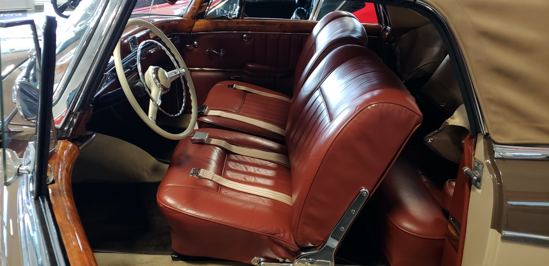 Used 1957 Mercedes-Benz 220 S Cabriolet - Full Restoration for sale Sold at Formula Imports in Charlotte NC 28227 23
