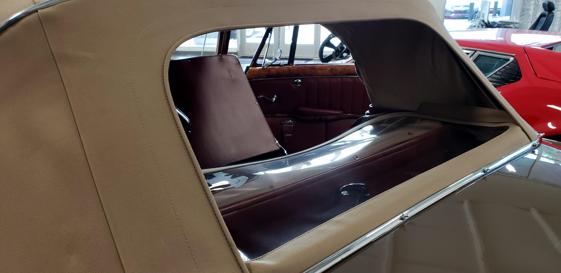 Used 1957 Mercedes-Benz 220 S Cabriolet - Full Restoration for sale Sold at Formula Imports in Charlotte NC 28227 33