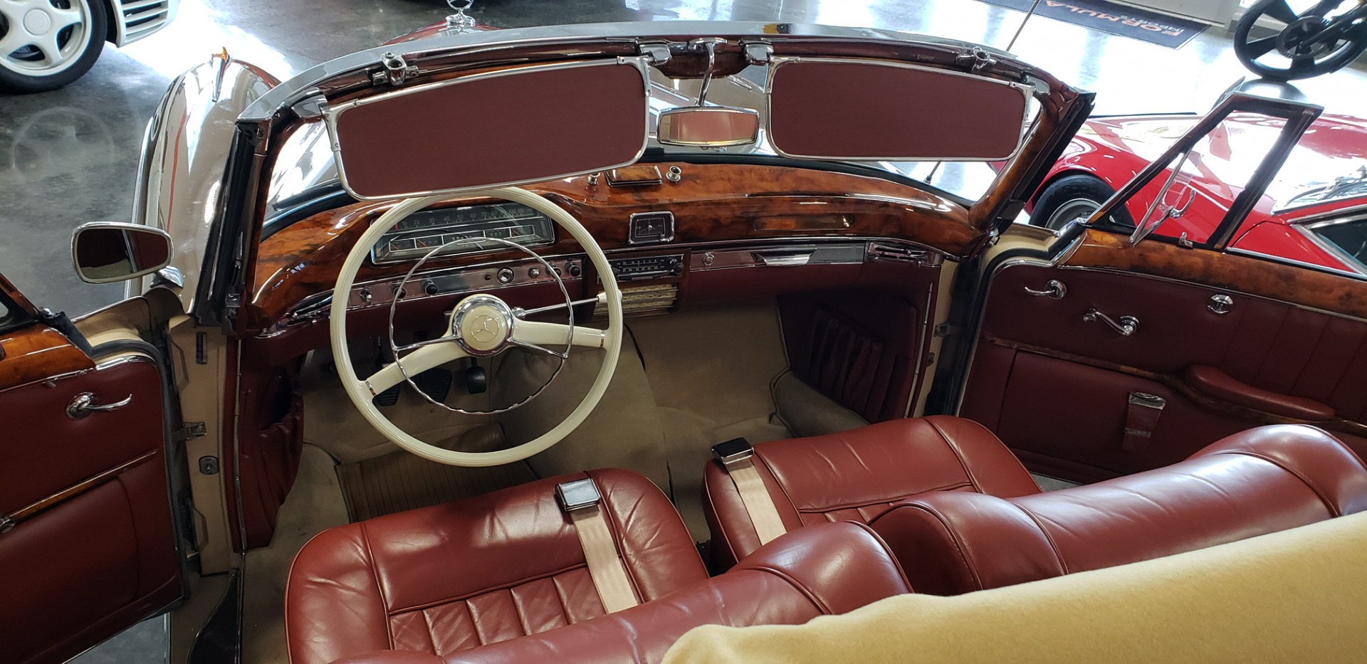 Used 1957 Mercedes-Benz 220 S Cabriolet - Full Restoration for sale Sold at Formula Imports in Charlotte NC 28227 35