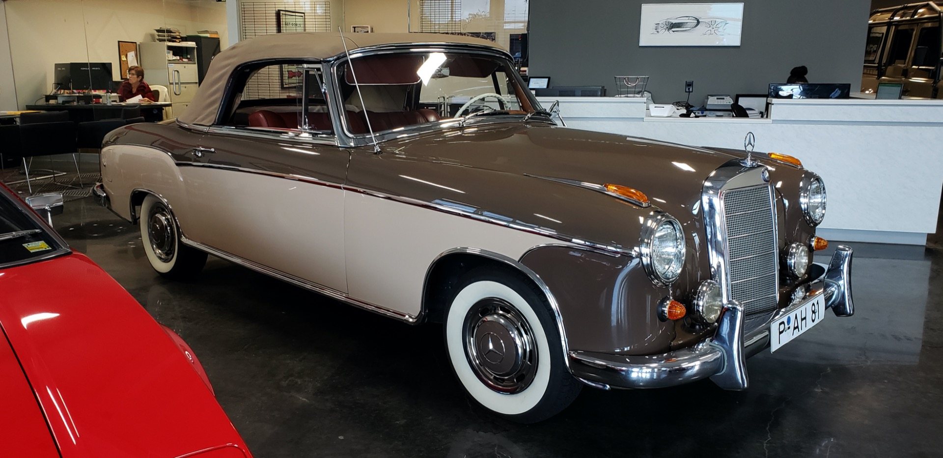Used 1957 Mercedes-Benz 220 S Cabriolet - Full Restoration for sale Sold at Formula Imports in Charlotte NC 28227 4