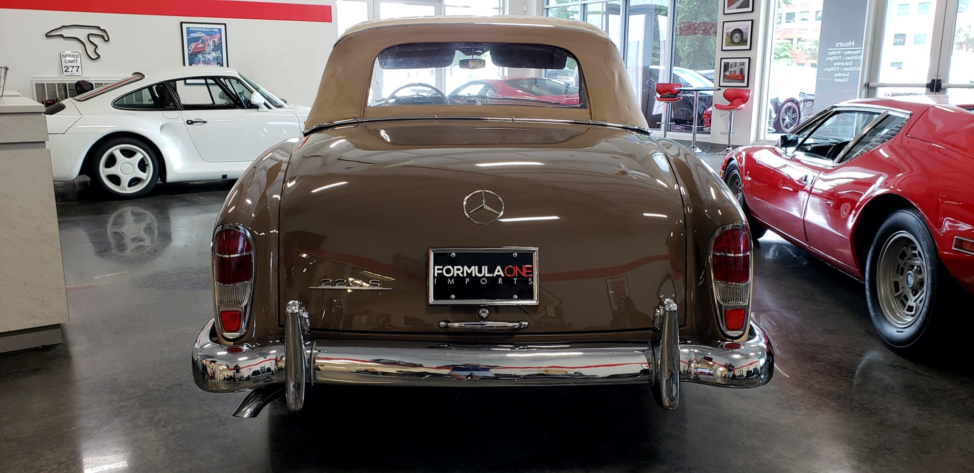Used 1957 Mercedes-Benz 220 S Cabriolet - Full Restoration for sale Sold at Formula Imports in Charlotte NC 28227 67
