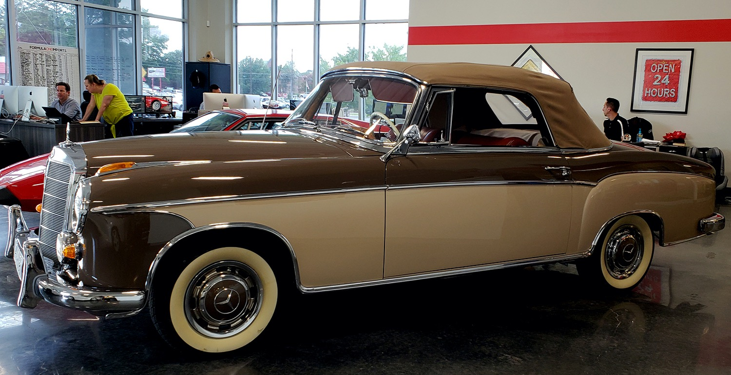 Used 1957 Mercedes-Benz 220 S Cabriolet - Full Restoration for sale Sold at Formula Imports in Charlotte NC 28227 1