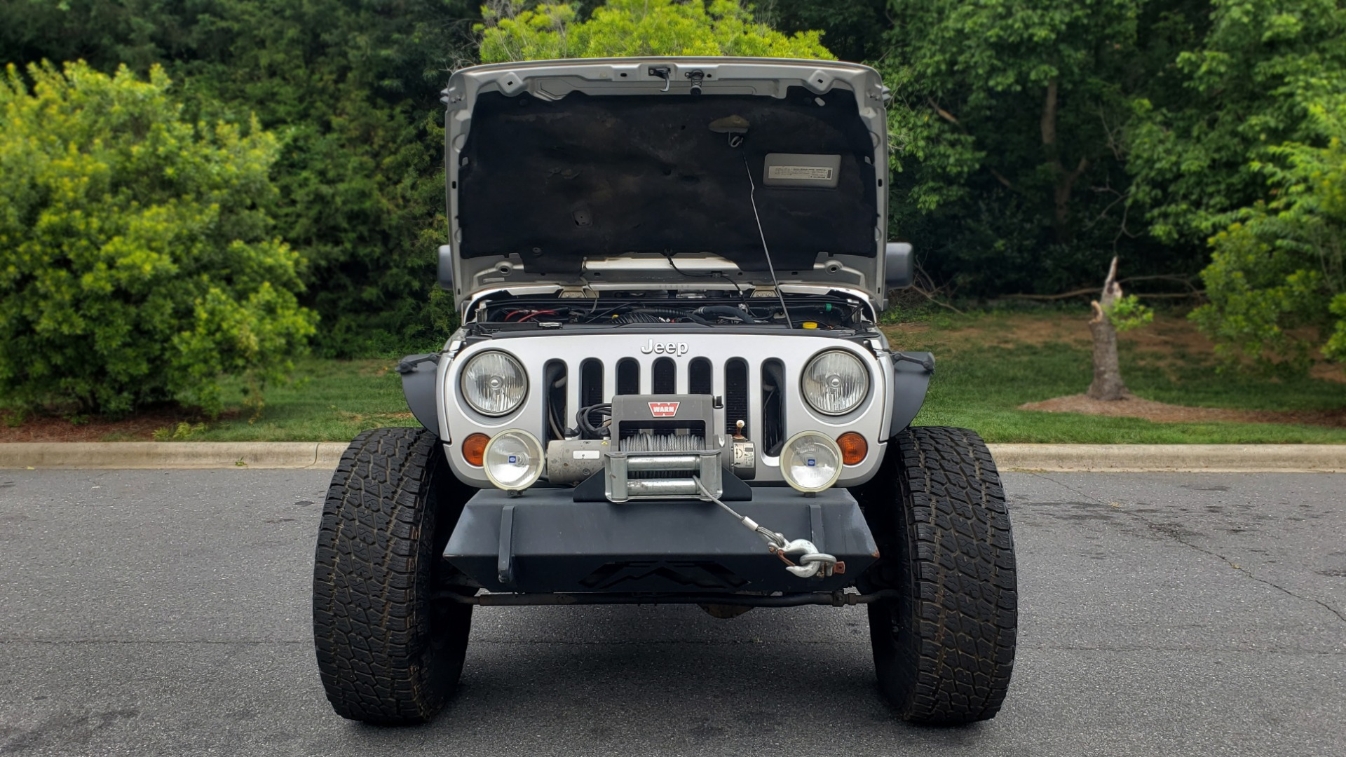Used 2008 Jeep WRANGLER RUBICON 4X4 / SOFT-TOP / LIFTED / PIONEER W/JL SUB-WOOFER for sale Sold at Formula Imports in Charlotte NC 28227 20