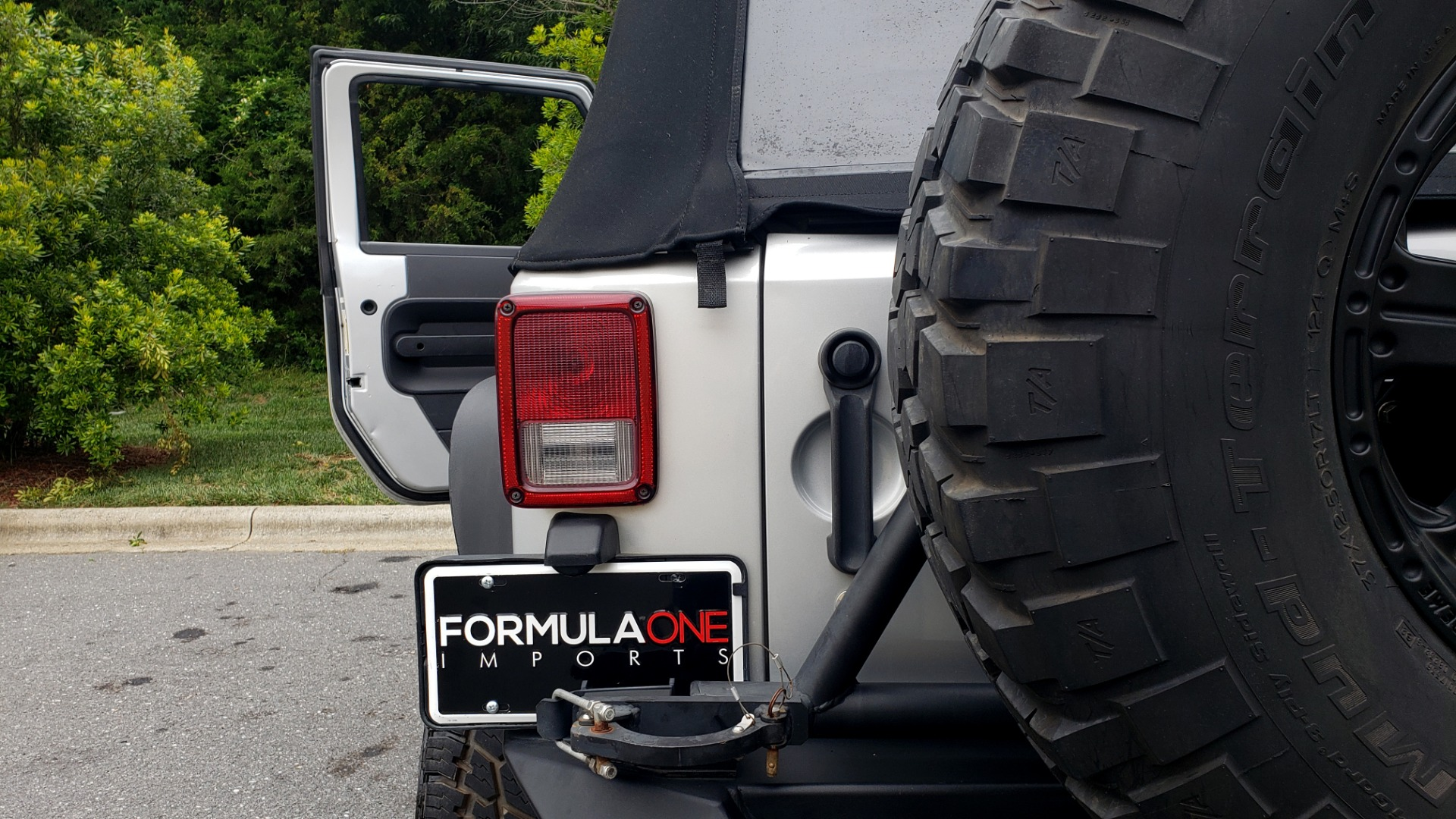 Used 2008 Jeep WRANGLER RUBICON 4X4 / SOFT-TOP / LIFTED / PIONEER W/JL SUB-WOOFER for sale Sold at Formula Imports in Charlotte NC 28227 59