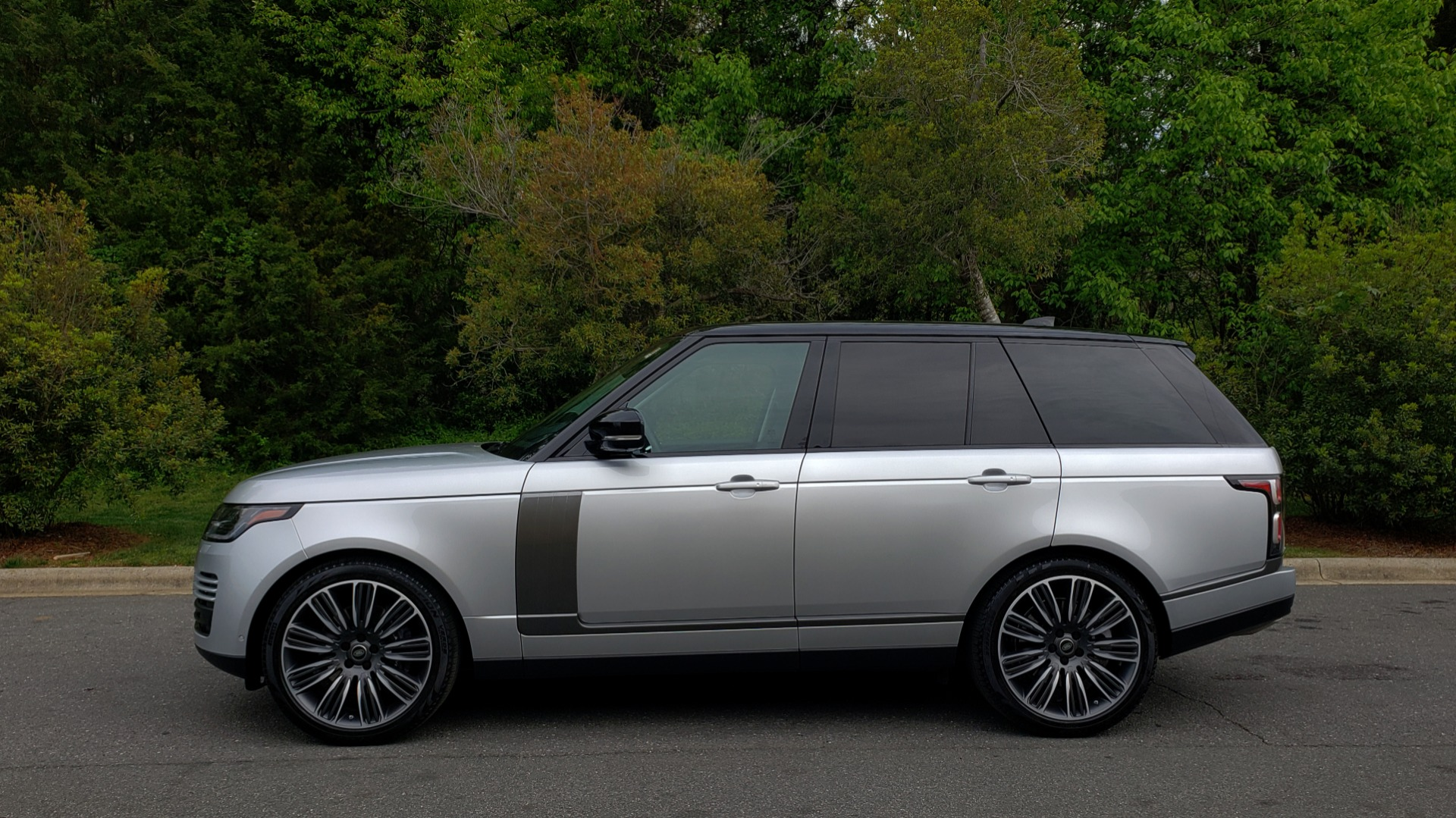 Used 2019 Land Rover RANGE ROVER SUPERCHARGED V8 / DRV PRO PK / VISION ASSIST / SHADOW PKG / PARK PRO / TOW  for sale Sold at Formula Imports in Charlotte NC 28227 2