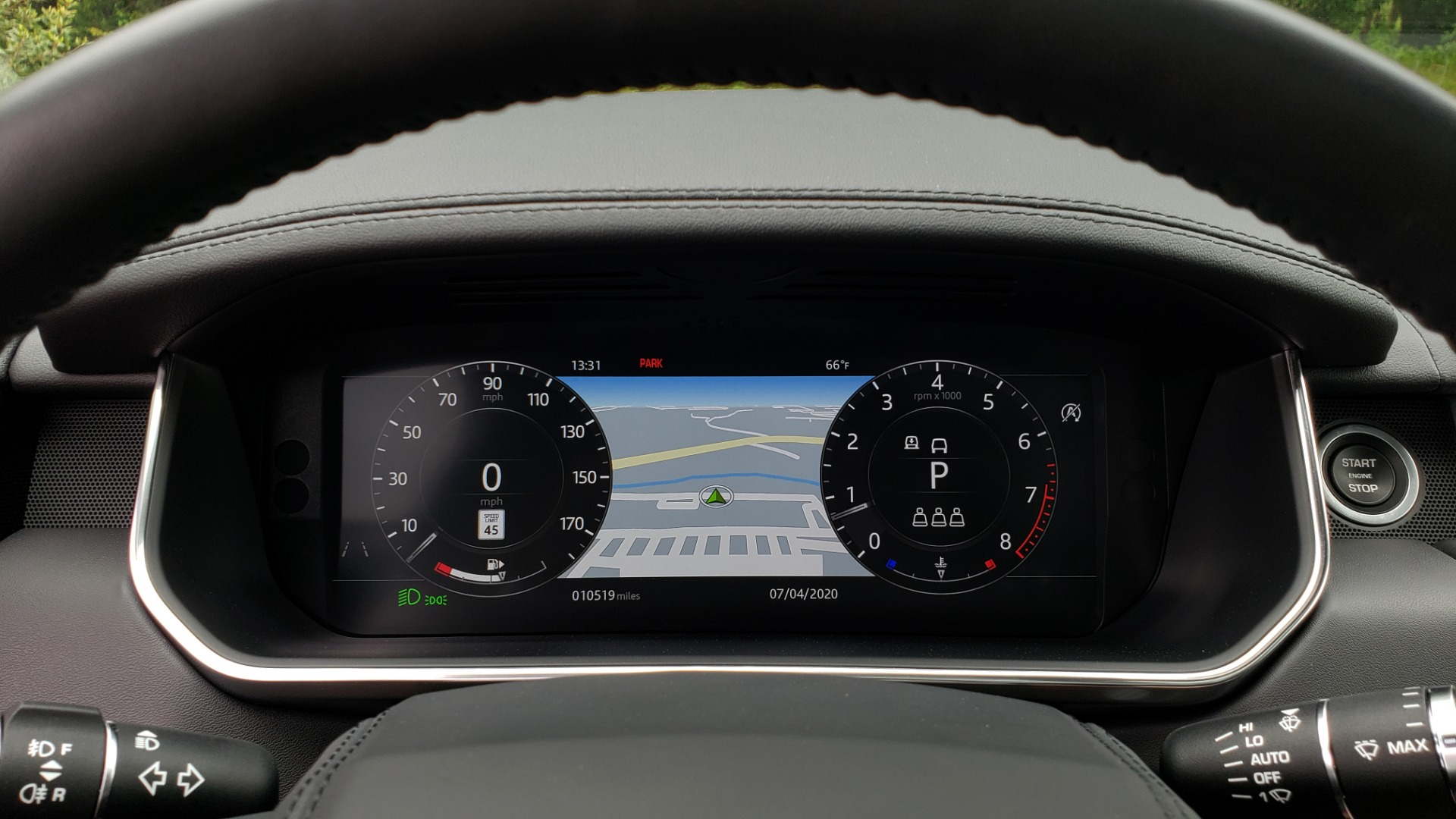 Used 2019 Land Rover RANGE ROVER SUPERCHARGED V8 / DRV PRO PK / VISION ASSIST / SHADOW PKG / PARK PRO / TOW  for sale Sold at Formula Imports in Charlotte NC 28227 56