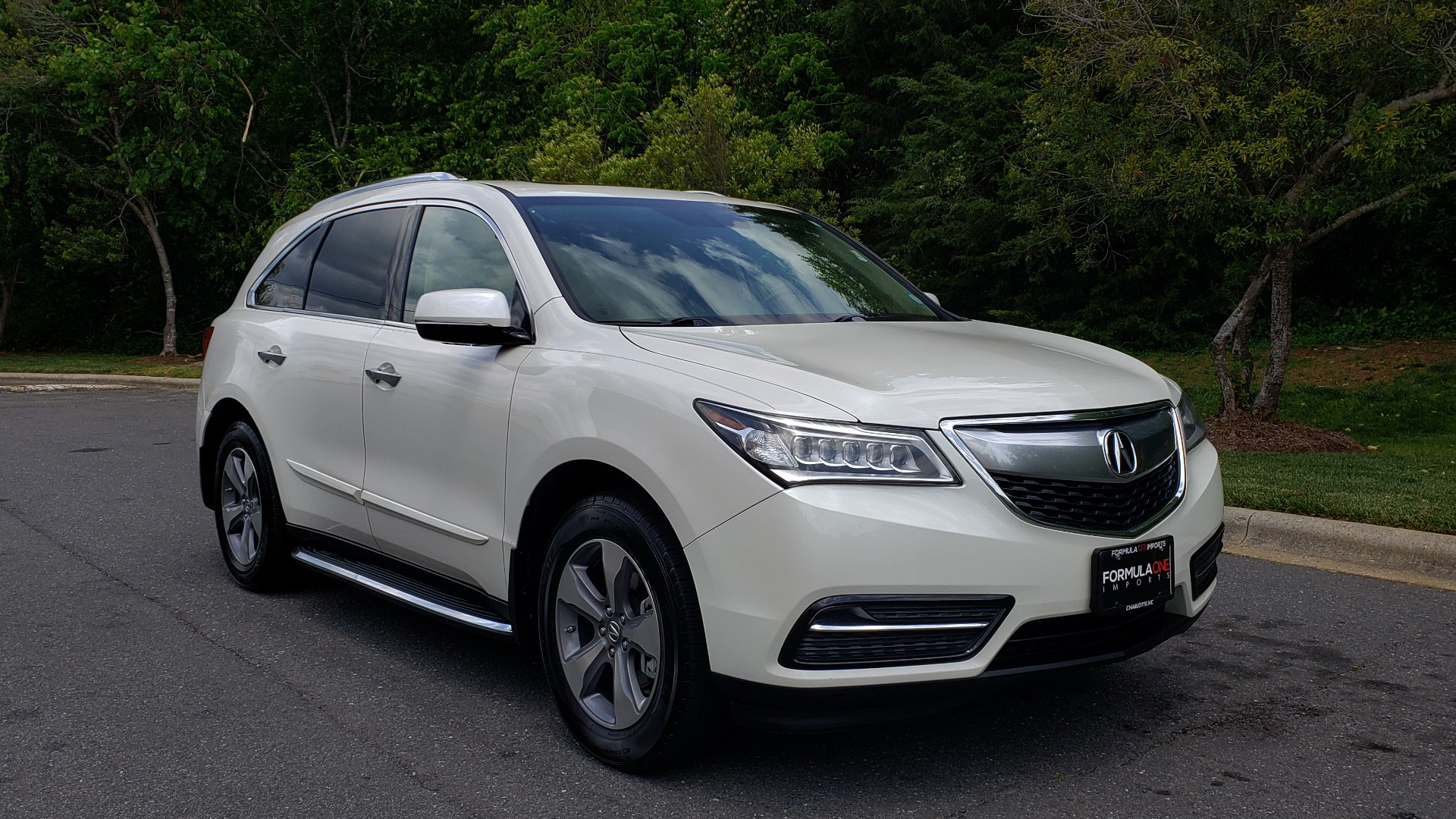 Used 2014 Acura MDX AWD / NAV / SUNROOF / 3-ROW / REARVIEW / PREMIUM SND for sale Sold at Formula Imports in Charlotte NC 28227 4