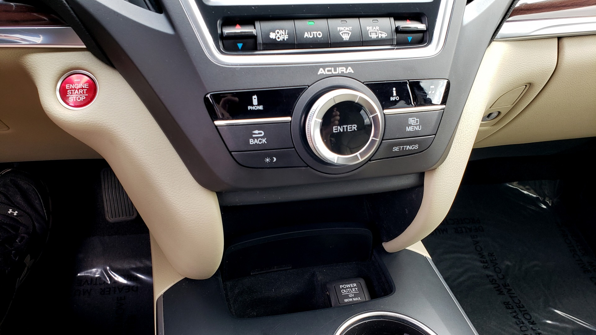 Used 2014 Acura MDX AWD / NAV / SUNROOF / 3-ROW / REARVIEW / PREMIUM SND for sale Sold at Formula Imports in Charlotte NC 28227 52