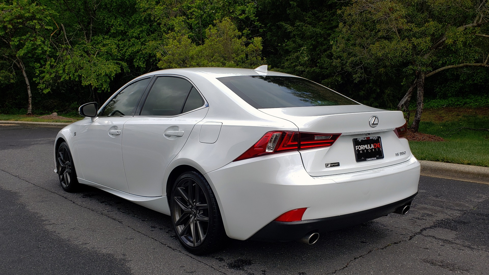 Used 2014 Lexus IS 350 F-SPORT / NAV / SUNROOF / REARVIEW / BSM / MARK LEV SND for sale Sold at Formula Imports in Charlotte NC 28227 3