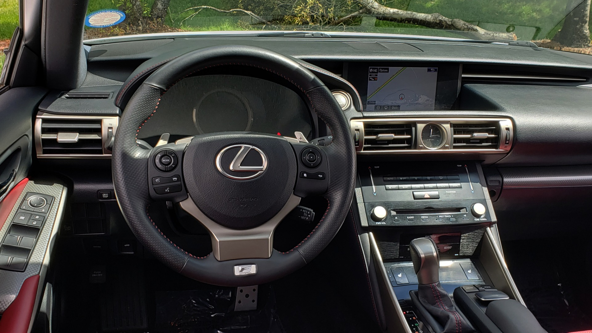 Used 2014 Lexus IS 350 F-SPORT / NAV / SUNROOF / REARVIEW / BSM / MARK LEV SND for sale Sold at Formula Imports in Charlotte NC 28227 34