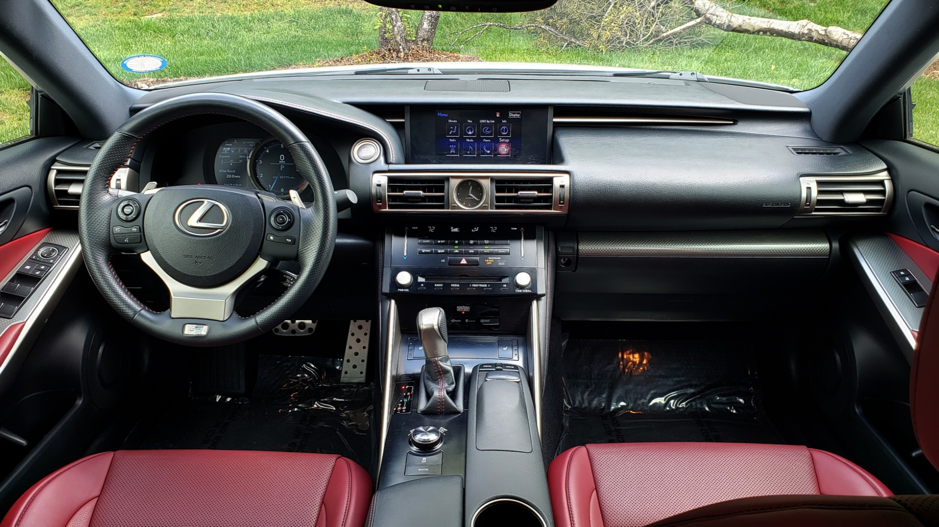 Used 2014 Lexus IS 350 F-SPORT / NAV / SUNROOF / REARVIEW / BSM / MARK LEV SND for sale Sold at Formula Imports in Charlotte NC 28227 77