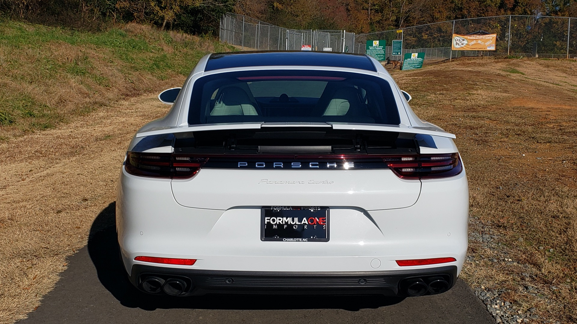 Used 2017 Porsche Panamera Turbo for sale Sold at Formula Imports in Charlotte NC 28227 28