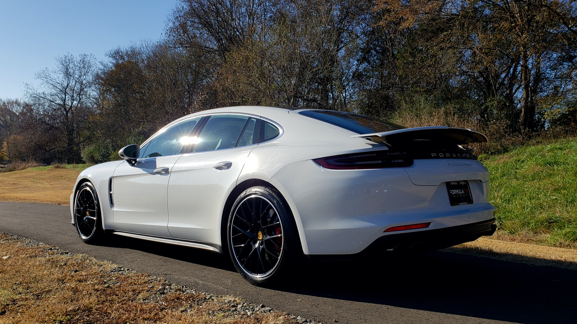 Used 2017 Porsche Panamera Turbo for sale Sold at Formula Imports in Charlotte NC 28227 3